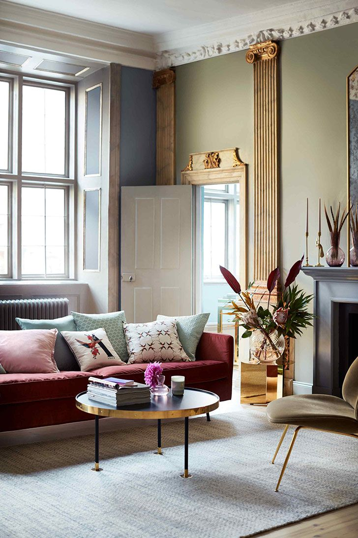 Art Deco 2 0 Eclectic Glam By H M Home Dizajn Domashnego