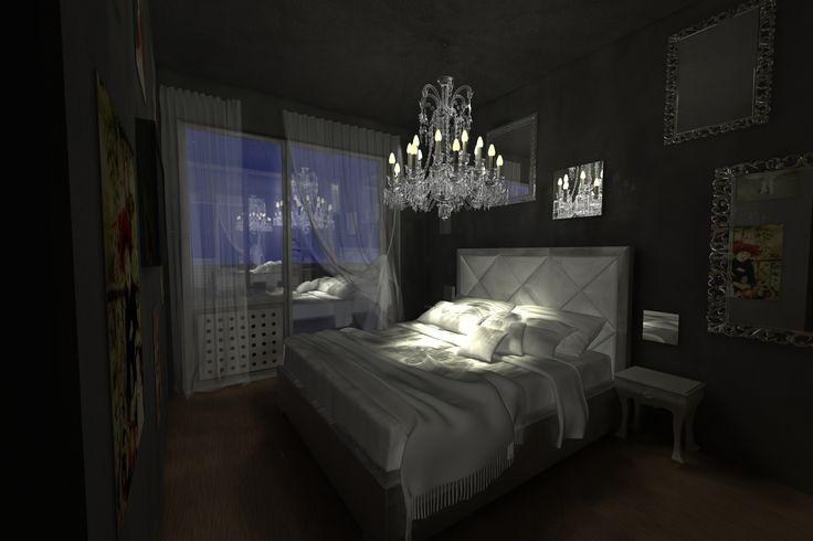 #Rendering #Interiordesign Camera matrimoniale