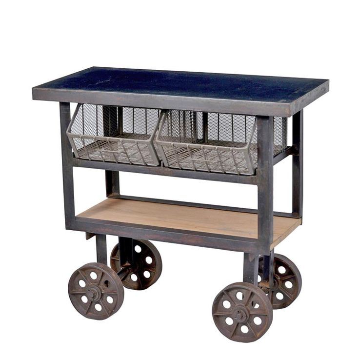 Industrial Kitchen Trolley