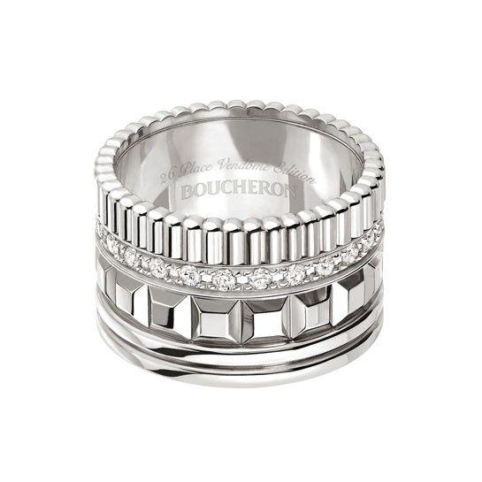 Boucheron : The Quatre Radiant Edition ring