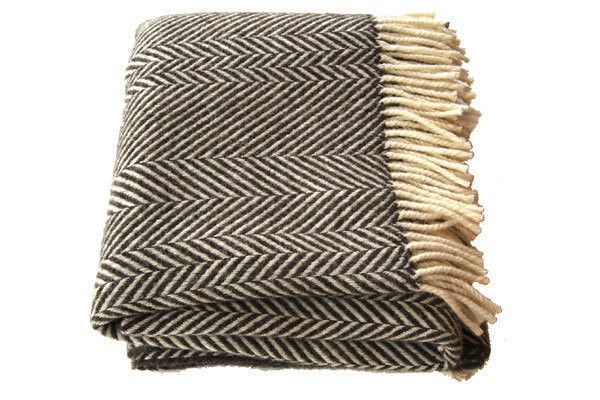 jacob chevron stripe blanket