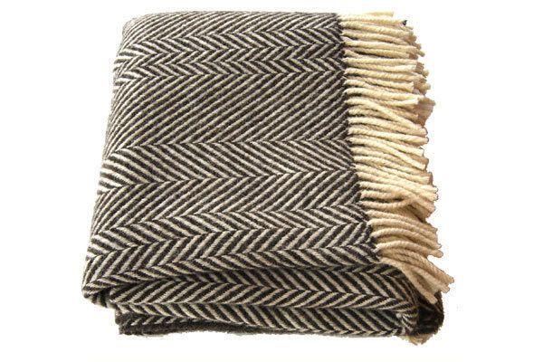 jacob chevron stripe blanket / scp