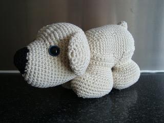 Leonie's Haaksels: Gijs de ijsbeer