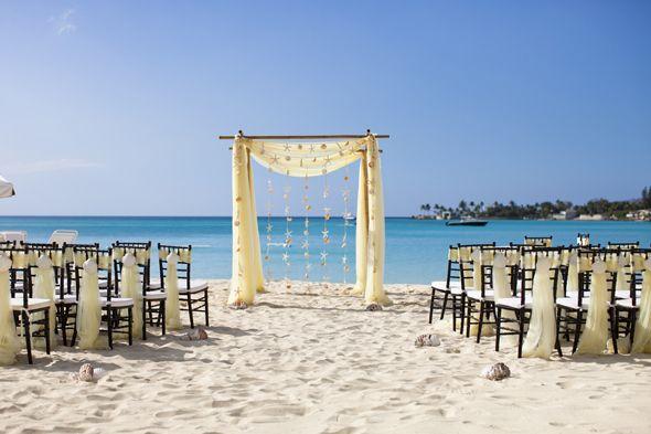 beach wedding in the Bahamas. image by focusphotoinc.com