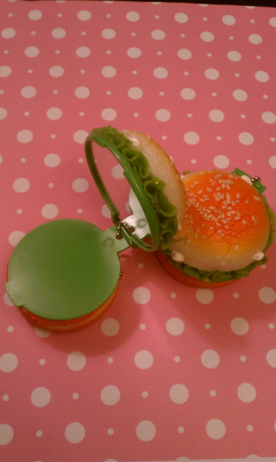Squishy Burger Mirror : 85 best images about Style: Donot  shy on Pinterest Cactus print, Cats and Resin ring