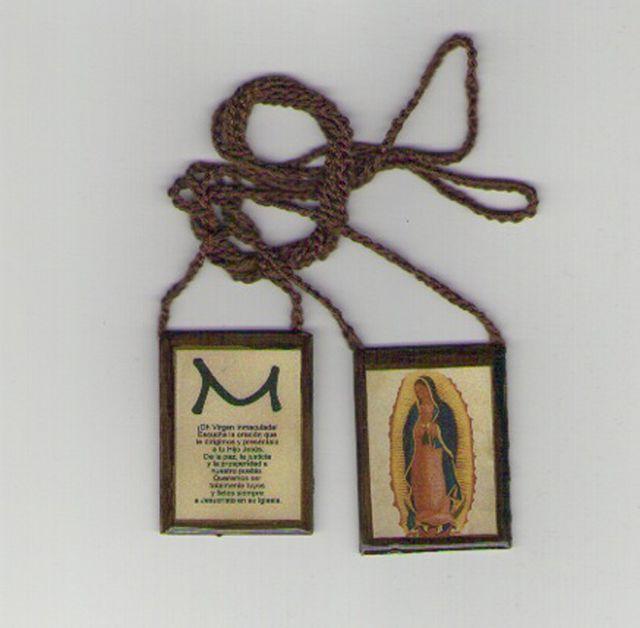 Aprende cómo hacer un escapulario de la Virgen de Guadalupe paso por paso.