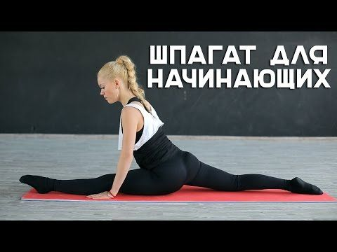 Шпагат для начинающих [Workout | Будь в форме] - YouTube
