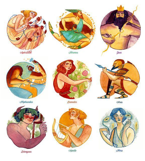 Οι 12 θεοί του Ολύμπου: 77 χρήσιμες συνδέσεις για Νηπιαγωγείο και το Δημοτικό