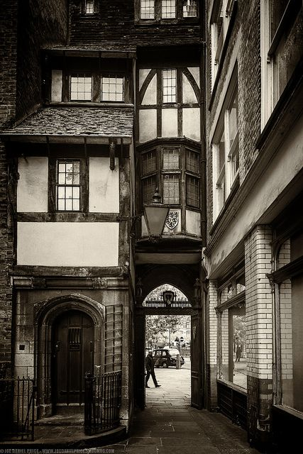 Wedged House at the Church of Saint Bartholomew the Great, London, England by Fragga, via Flickr