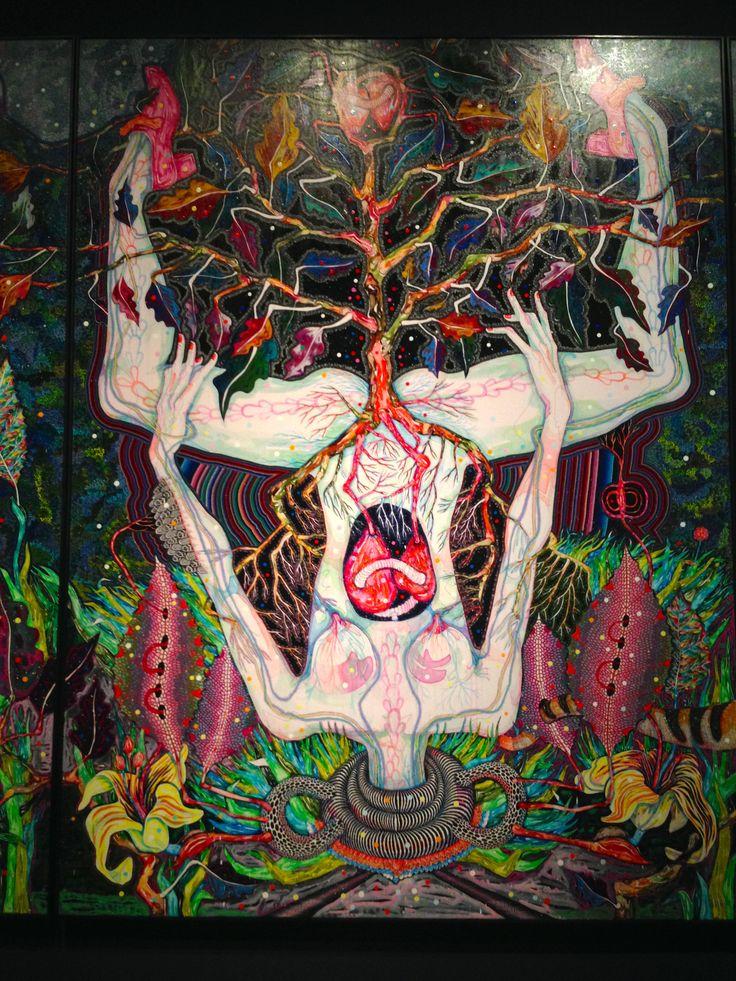 Dark Heart Exhibition - Adelaide Art Gallery, 2014