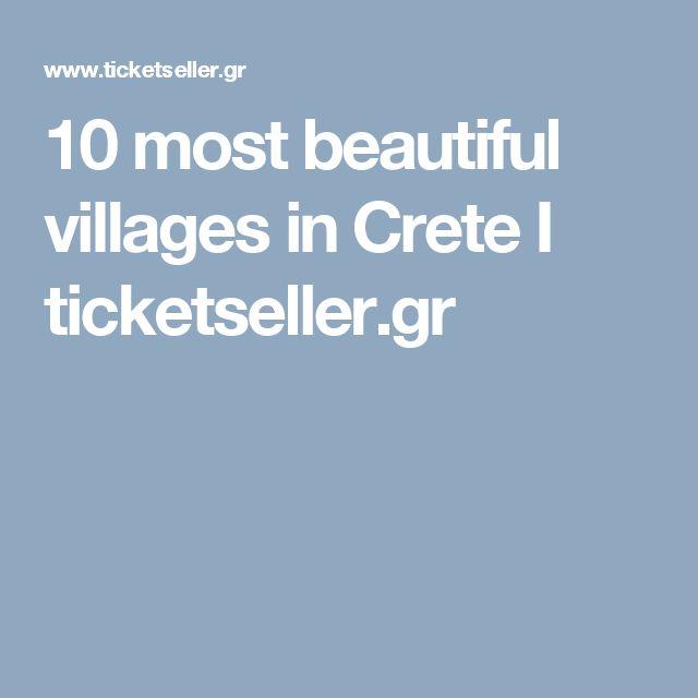 10 most beautiful villages in Crete I ticketseller.gr