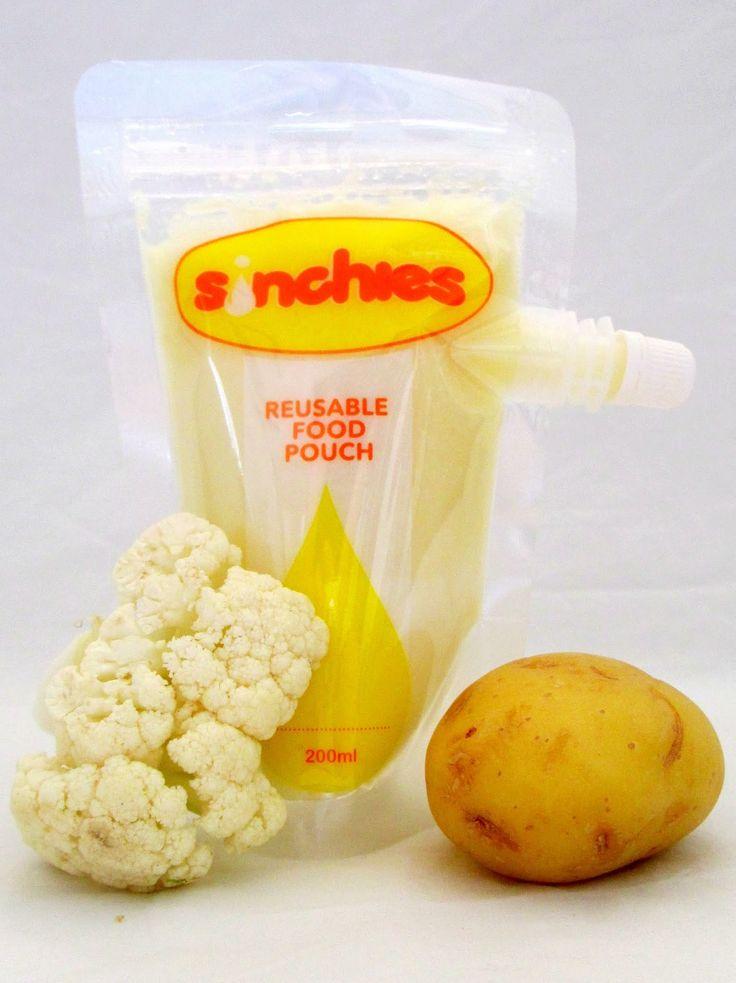Sinchies reusable food pouches