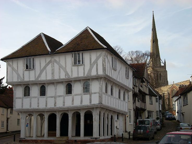 Thaxted Guildhall dating from around 1450 Fairfield and Declan visit