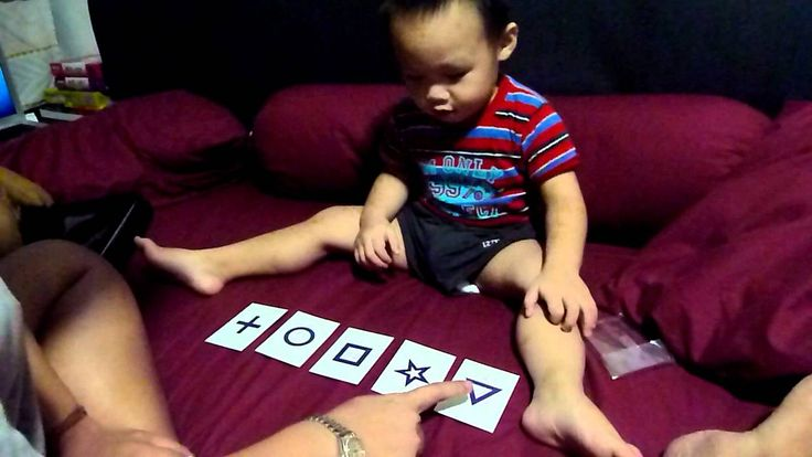 Shichida Shape and little memory game - 23month old.MOV