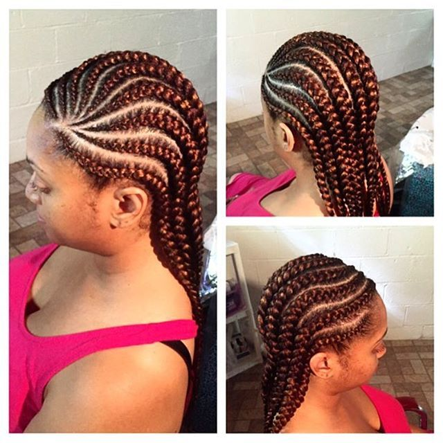African Braids: Latest Beautiful Ghana Weaving Styles 2016