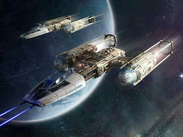 Y Wing Starfighter Art
