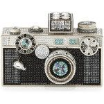 Judith Leiber Couture Camera Clutch Bag