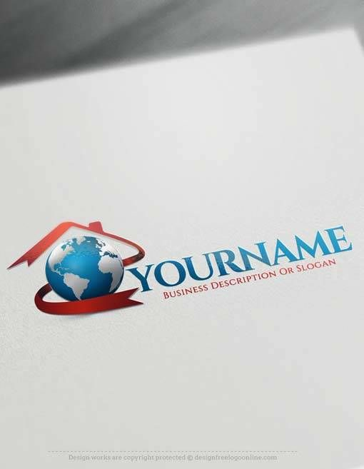 Create Your Own House Logo with Free Real estate Logo creator