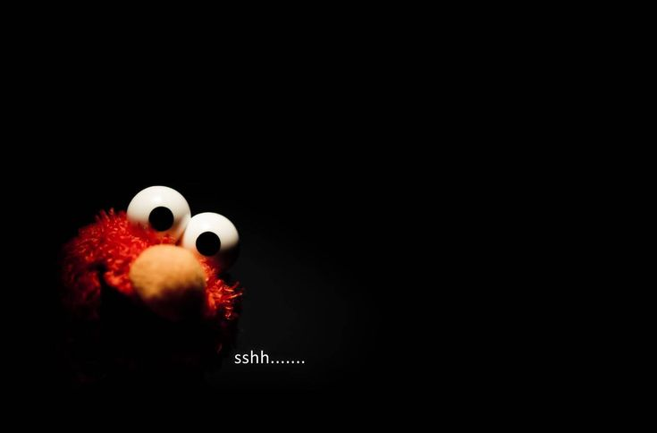 Shhh Elmo Wallpaper From