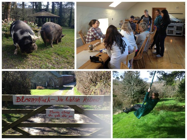 Fun times at The Welsh Retreat on our Easter Yoga Retreat