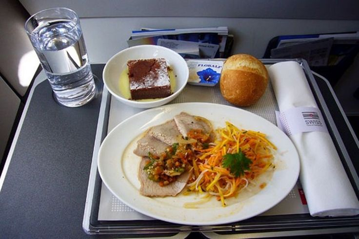 The airline meal - Swiss Airlines
