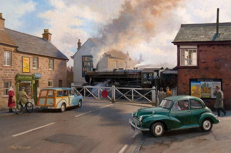 Railway & Landscape Paintings by Rob Rowland GRA