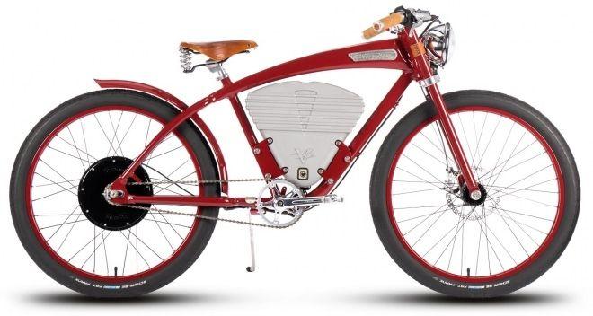 レトロデザインの電動アシスト自転車「Tracker」