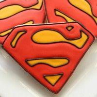 Superman Cookies SweetSugarBelle