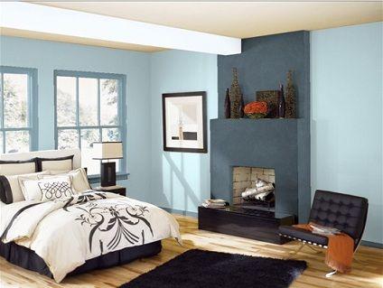 oltre 20 migliori idee su camere da letto blu su pinterest ... - Pareti Colorate Camera Da Letto