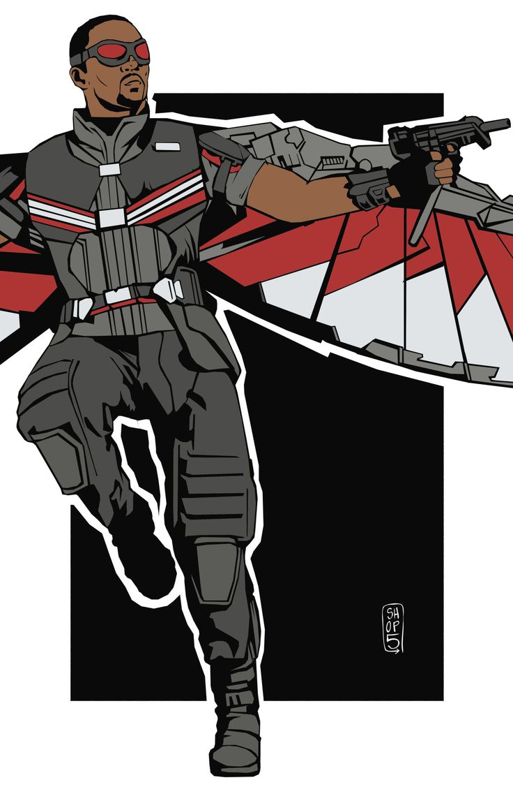 17 best images about falcon on pinterest the winter - Faucon avengers ...