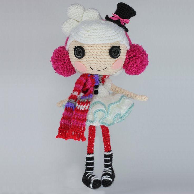 Амигуруми: Кукла Лалалупси