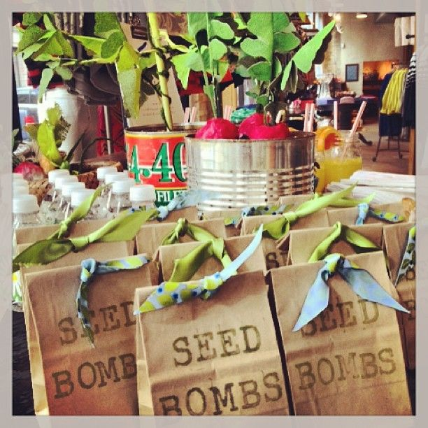 seed bomb gifts (Photo by anthropologie)
