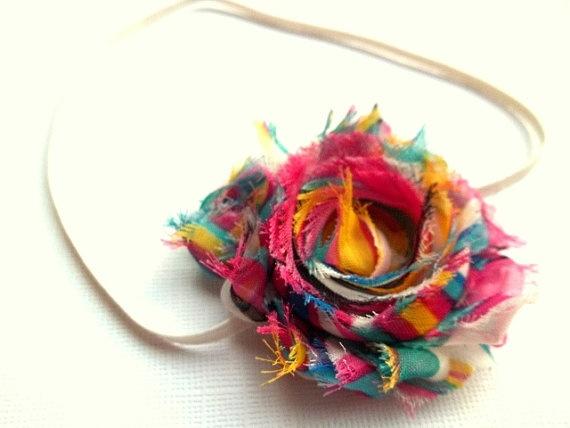 Super Cute!!! Rainbow Headband by twistedflowers <3