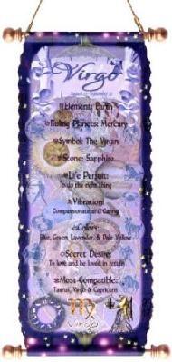 Virgo Zodiac Tapestry August 23 - September 22 Horoscope