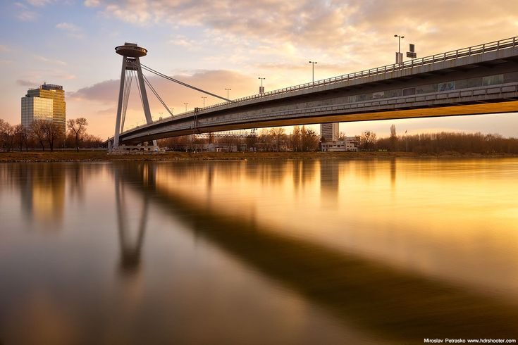 Long exposure light in Bratislava