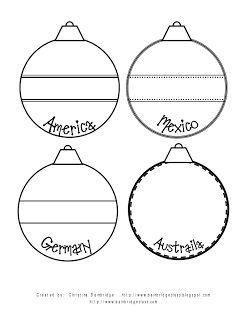 Editable Holidays Christmas Around the World Scrapbook | Scrapbook ...