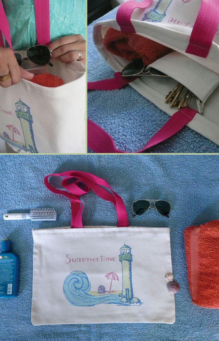 Bolsas de tela de alonauta, para llevar a la Playa en estas vacaciones