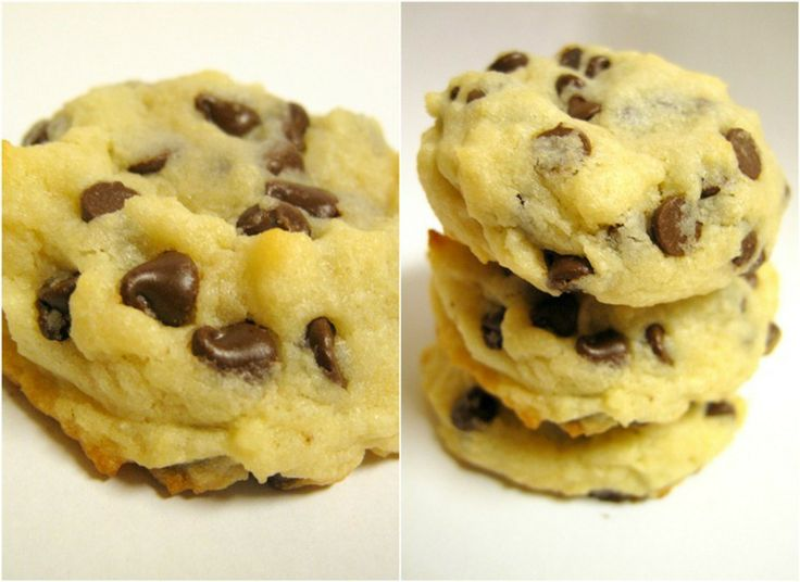Choc Chip Cheesecake cookies... may have to try these!
