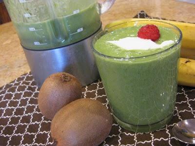 Back On Track Green Monster (Banana-Free) Recipe — Dishmaps