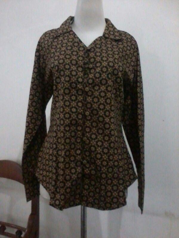 Batik traditional blouse, size S/M, direct wa 08812775835   batik Solo ...