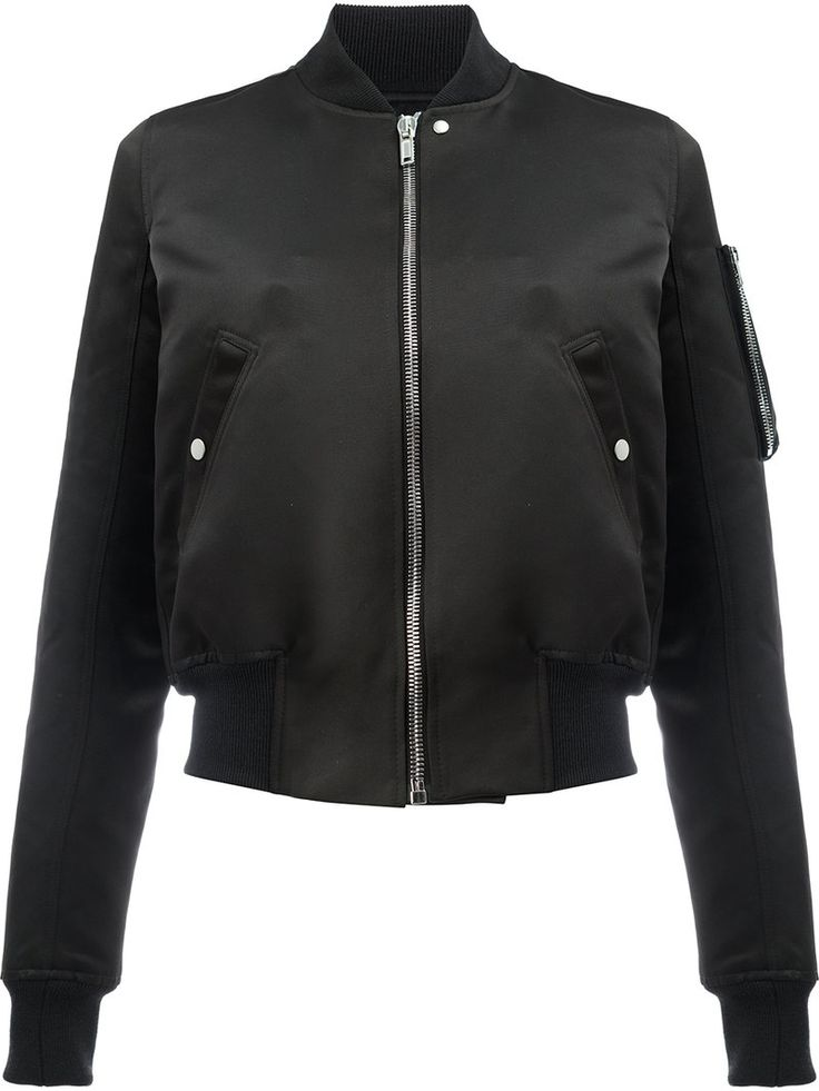¡Cómpralo ya!. Rick Owens - Glitter Flight Bomber Jacket - Women - Silk/Cotton/Polyester/Viscose - 42. Black cotton-silk blend Glitter Flight bomber jacket from Rick Owens featuring a stand up collar, a front zip fastening, two front pockets, long sleeves and zipped pocket at the sleeve. Size: 42. Gender: Female. Material: Silk/Cotton/Polyester/Viscose. , chaquetabomber, bómber, bombers, bomberjacke, chamarrabomber, vestebomber, giubbottobombber, bomber. Chaqueta bomber  de mujer color…