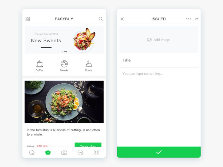 "Daily Ui Day #017.  Enjoyfood App Design!Thanks a lot Enjoy App images.  If you like my job, please follow me.  Press ""L"" if you like it.Thanks!"