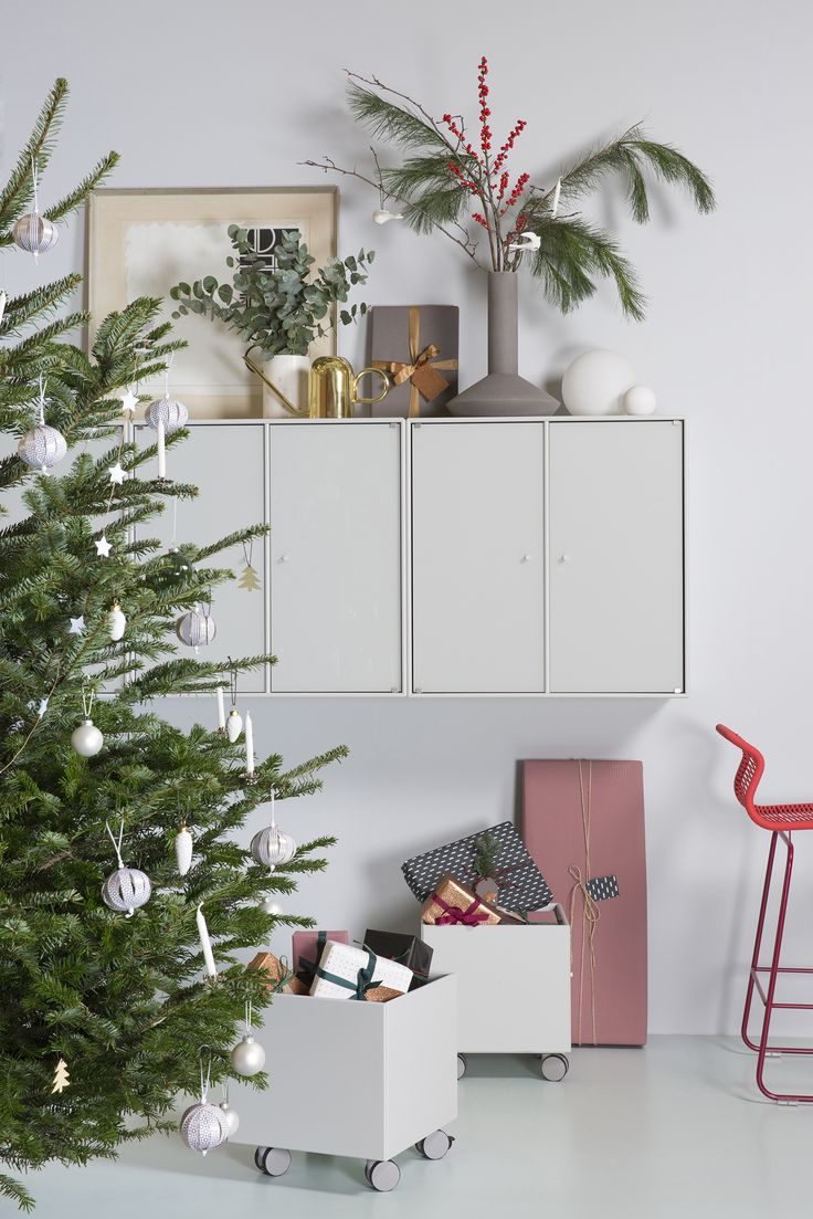 Store your presents in a decorative way. #montana #furniture #danish #design #storage #cabinets #christmas #storage