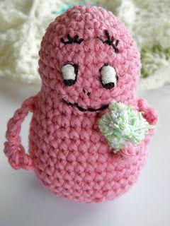Crochet Barbapapa Amigurumi ~ Free Pattern
