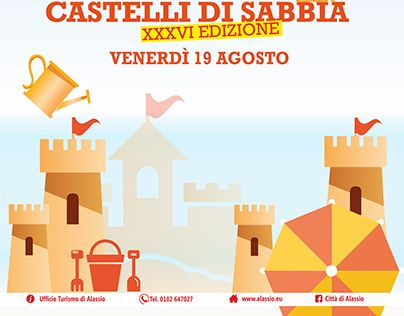 "Check out new work on my @Behance portfolio: ""ALASSIO SANDCASTLES 2016 XXXVI EDITION"" http://be.net/gallery/41406695/ALASSIO-SANDCASTLES-2016-XXXVI-EDITION"
