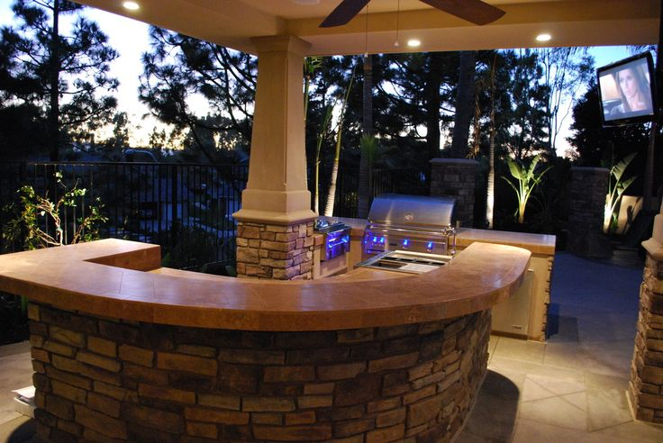 1000 Images About Outdoor Kitchen On Pinterest Fireplaces Old World And Backyard Kitchen