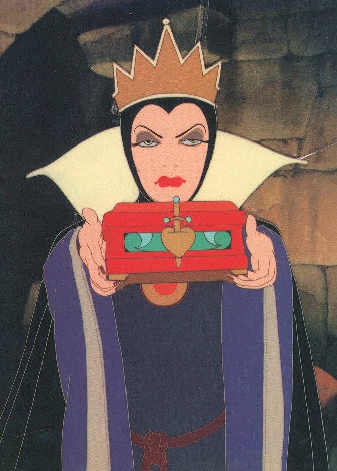 La Reine / Evil Queen (1937) - Blanche-Neige et les Sept Nains (Snow White and the Seven Dwarfs)