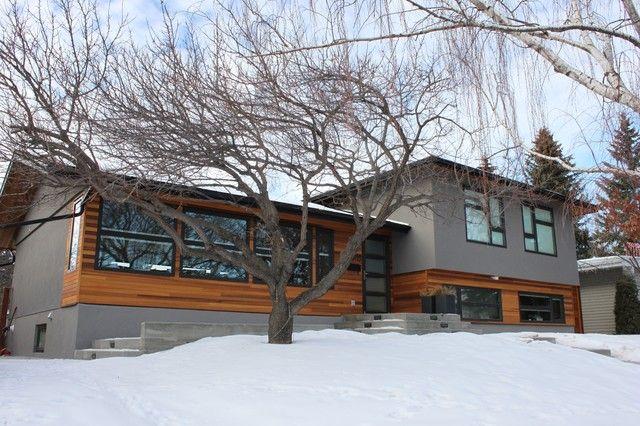 Contemporary Split Foyer : Best ideas about split level exterior on pinterest