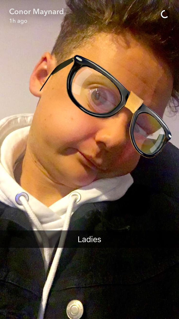 Even with snapchat filters Conor still looks hot af