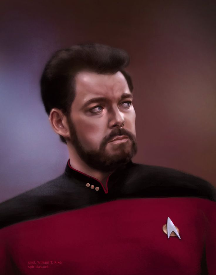 Riker - Star Trek: The Next Generation - Anna Khlystova